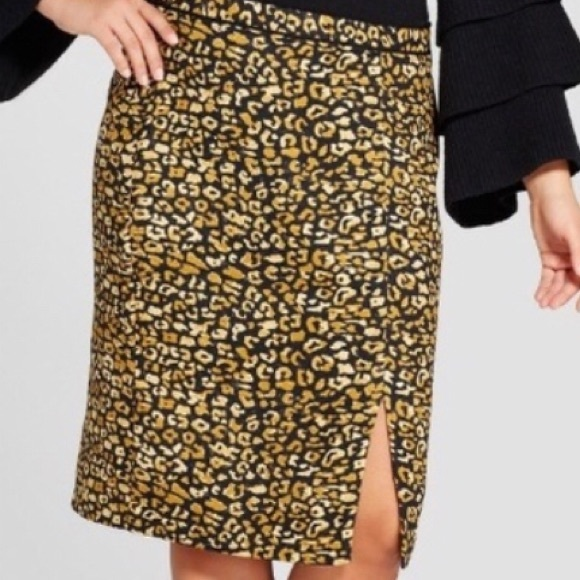 Who What Wear Dresses & Skirts - Who What Wear | Leopard Skirt